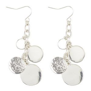 Picture of Alyssa Bright Silver Earrings